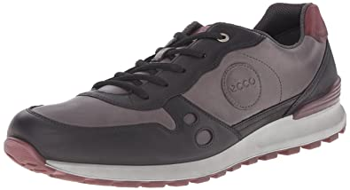 e98fdef050b ECCO Men's CS14 Retro Tie Fashion Sneaker, Black, 39 EU/5-5.5