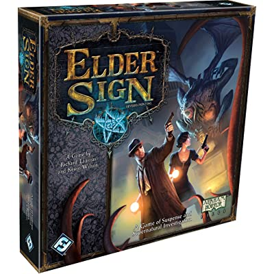 Fantasy Flight Games Elder Sign: Launius, Richard, Wilson, Kevin: Toys & Games