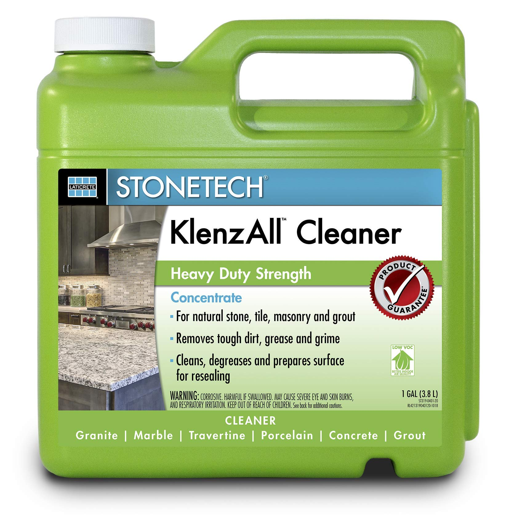StoneTech KlenzAll, Heavy Duty Cleaner for Stone & Tile, 1-Gallon (3.785L) by StoneTech