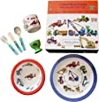 7 Piece Children's Melamine Gift Set - CONSTRUCTION