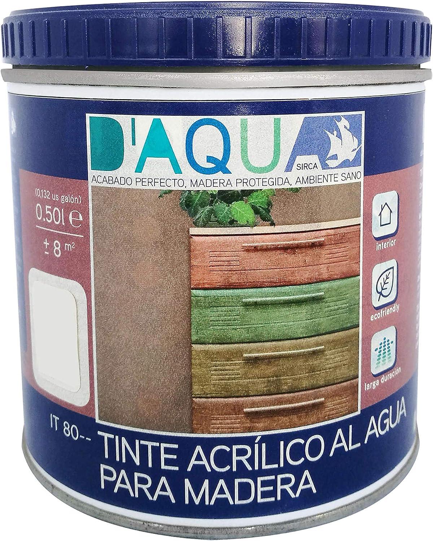 Tinte Acrílico Al Agua Para Madera 0,50l (Amarrillo Paja IT 8012)