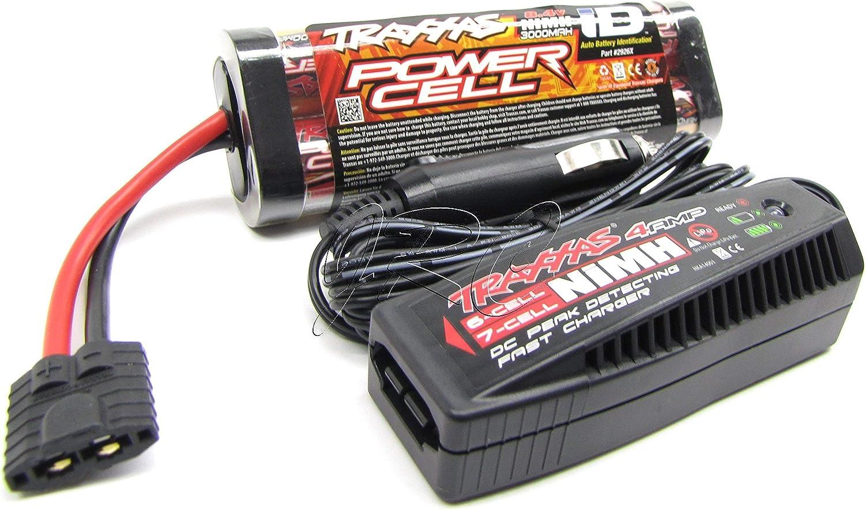 Traxxas 1//16 E-Revo VXL POWER CELL 6-C 7.2v 1200mAh BATTERY iD FAST CHARGER *