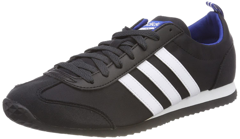 adidas Vs Jog, Zapatillas Para Hombre 46 2/3 EU|Negro (Negbas / Ftwbla / Reauni 000)
