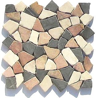 M 015 Marmor Bruchstein Mosaikfliesen Mediterran Design Fliesen Lager  Verkauf Stein Mosaik Herne NRW