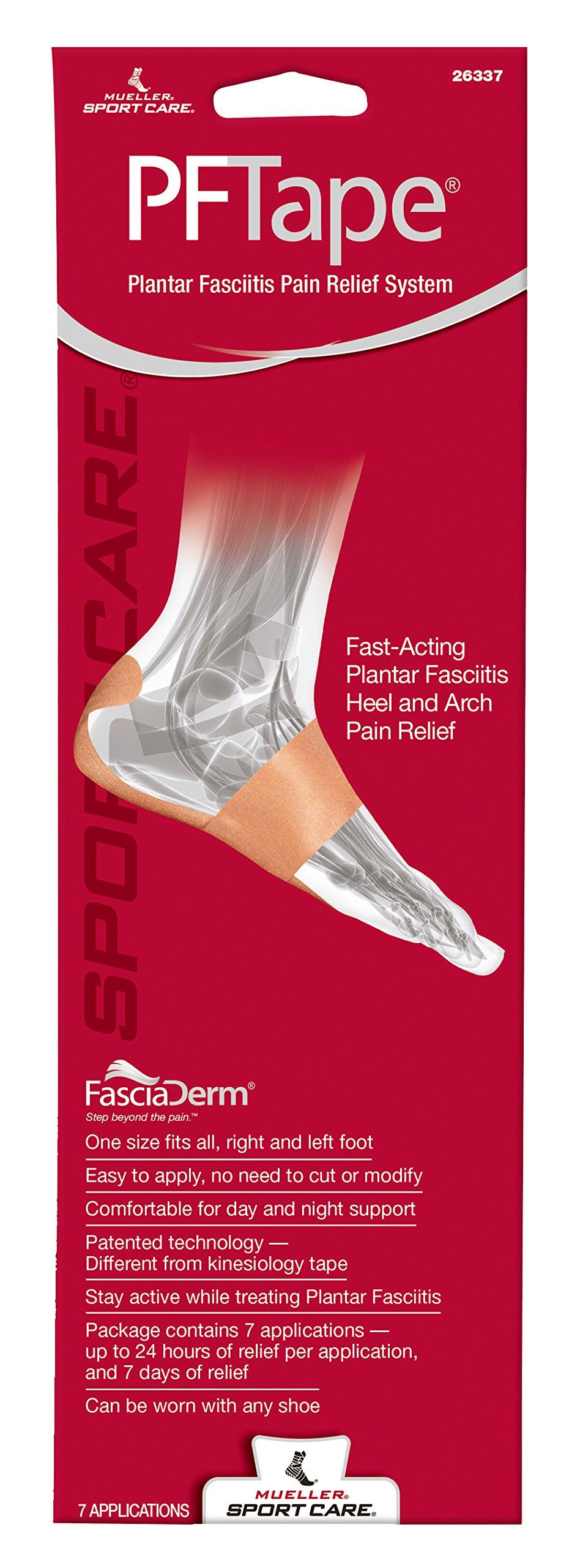 Mueller Sports Medicine PF Tape Plantar Fasciitis Pain Relief System, 0.22 Pound