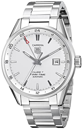 Tag Heuer Men's War2011.Ba0723 Carrera Automatic Stainless Steel Bracelet Watch by Tag Heuer