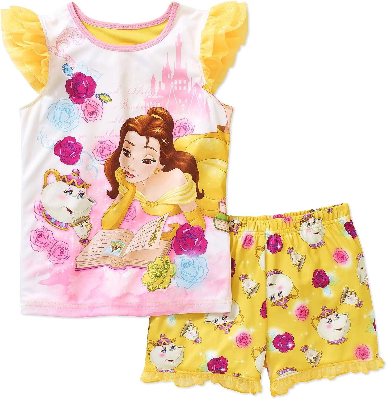 Disney Beauty /& The Beast Girls Mrs Pots /& Chip Pyjamas Snuggle Fit