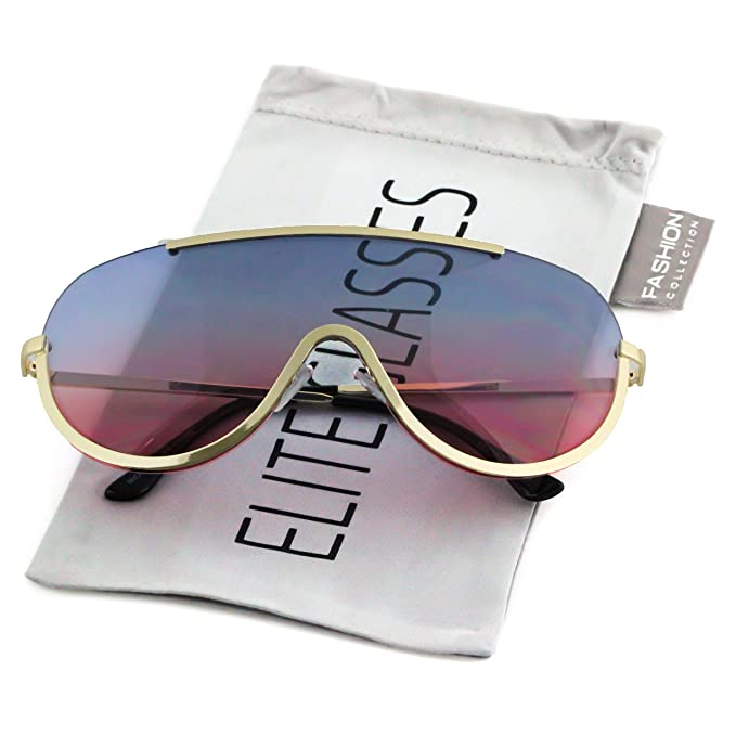 Amazon.com: Elite anteojos de sol de gran tamaño XX grande ...