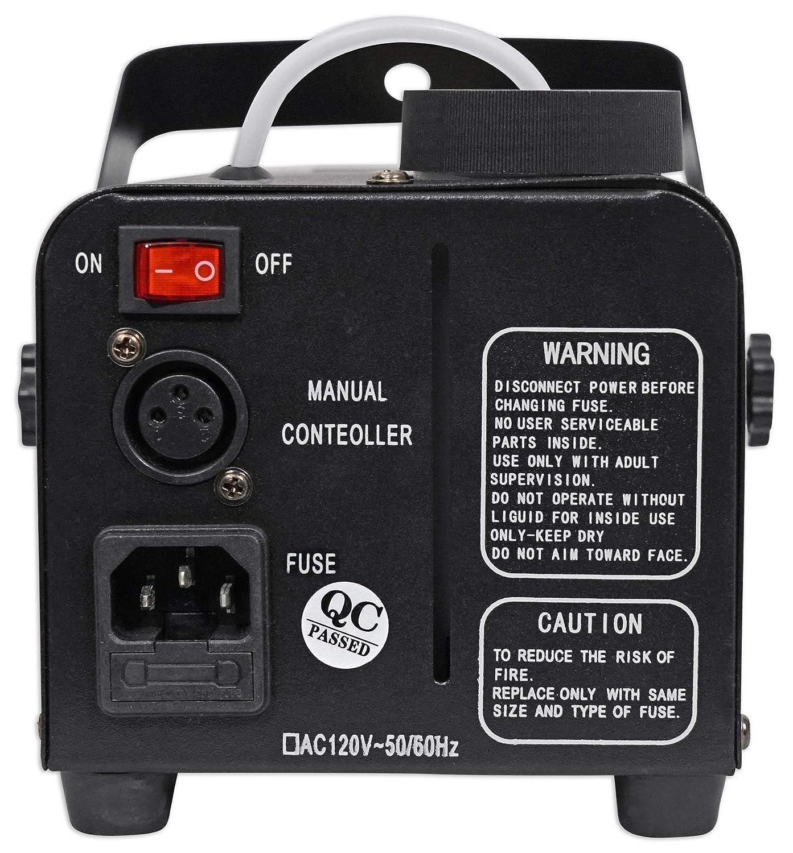 Amazon.com: Rockville R720L - Máquina de niebla y humo LED + ...