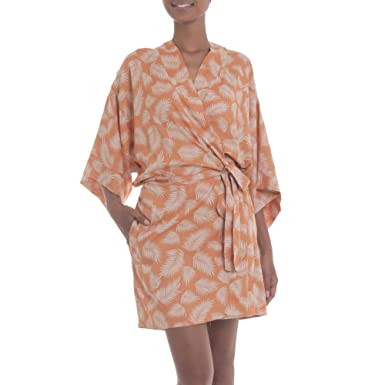 1e99bb785af Amazon.com  NOVICA Rayon Robe