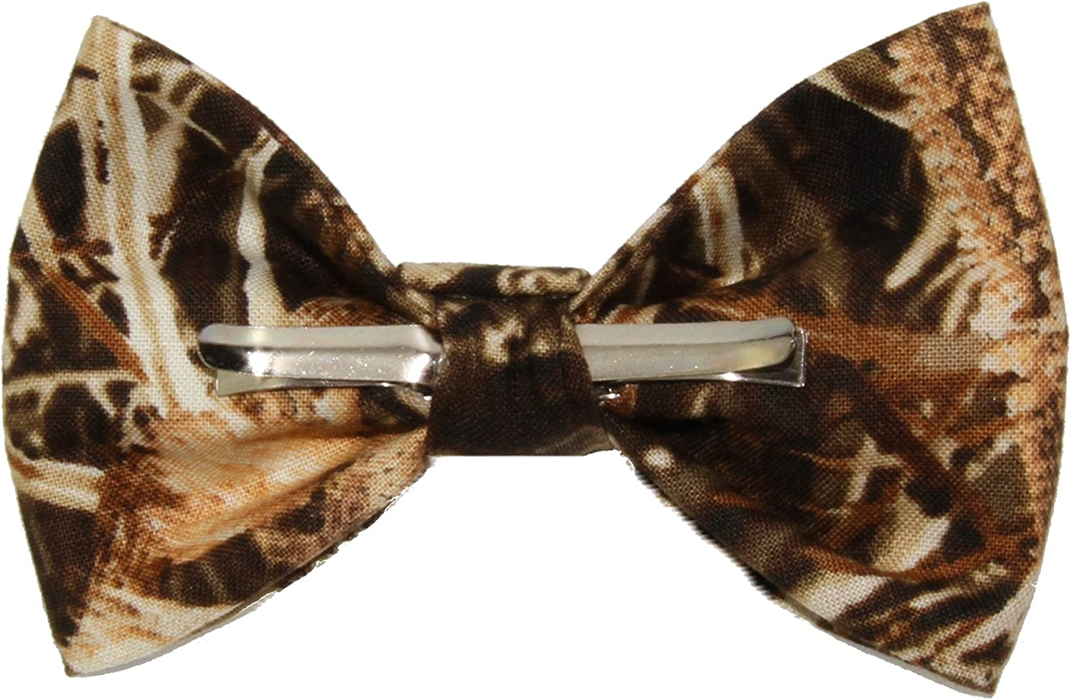 Boys Duckweed Camouflage Clip On Cotton Bow Tie Bowtie by amy2004marie