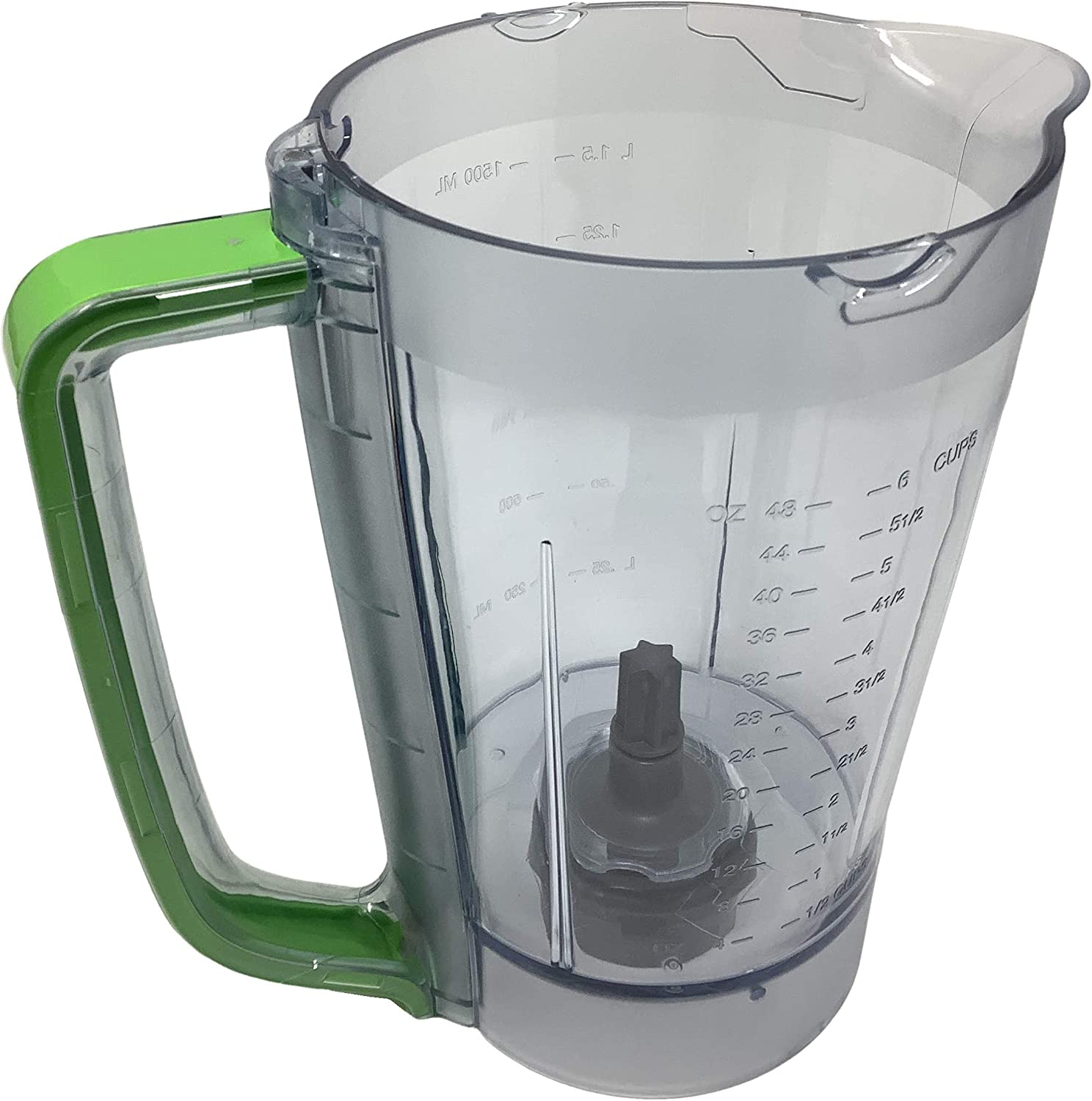 Ninja 48oz Pitcher Bowl for BL206 BL207 BL250 700w Extreme Kitchen System Pulse Blender, Green