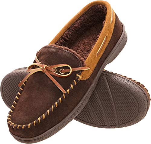 Mens George Shoes With Memory Foam Gray Brown Brand New