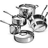 Amazon.com: Tramontina 80116/548DS Stainless Steel Tri-Ply Clad ...