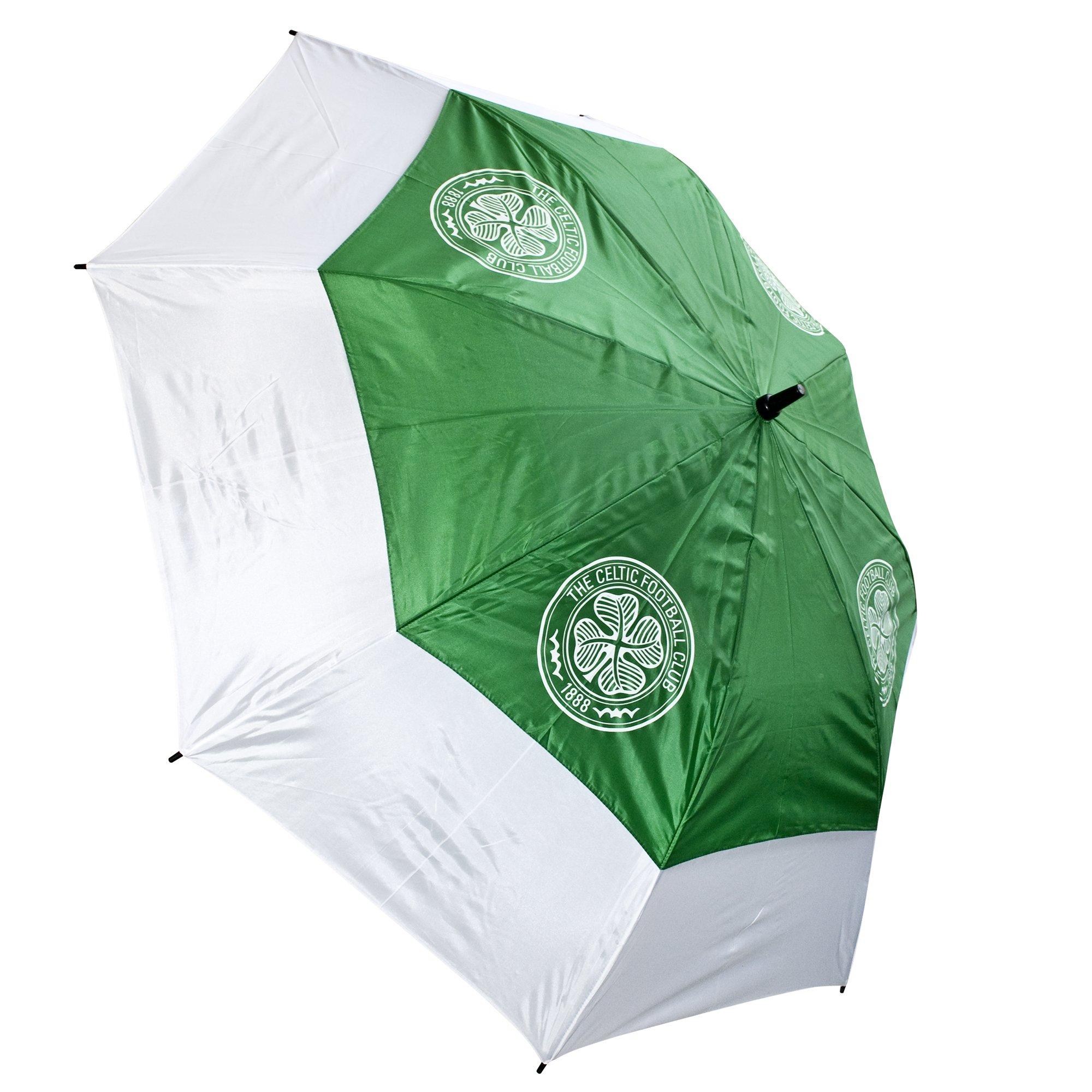 Celtic Fc Tour Vent Golf Umbrella Green/White
