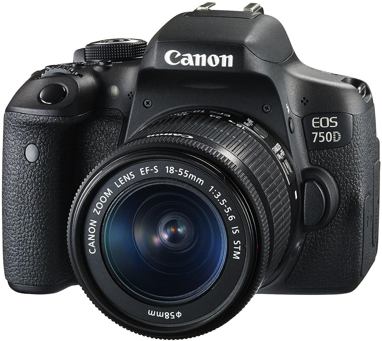 Canon Eos 750d 242mp Digital Slr Camera 18 55 Is 1300d Lensa Iii Wifi Kamera Dslr Kit Electronics