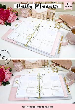 Un año - 365 días, planificador diario insertos, organizador ...