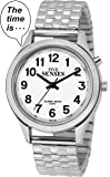 2nd Generation Talking Watch - Silver-Tone Alarm Day-Date Women Watch (ACT-TK34-A352L-02)(M106)