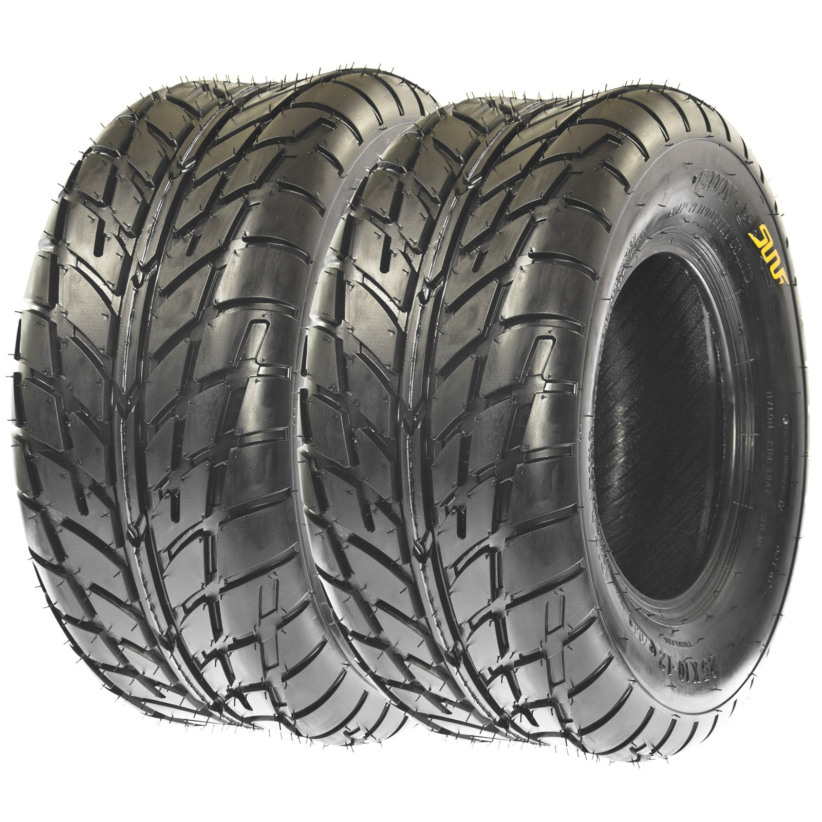 SunF Sport Quad ATV UTV Road Tires 26x10-14 26x10x14 6 PR A021 (Set pair of 2)