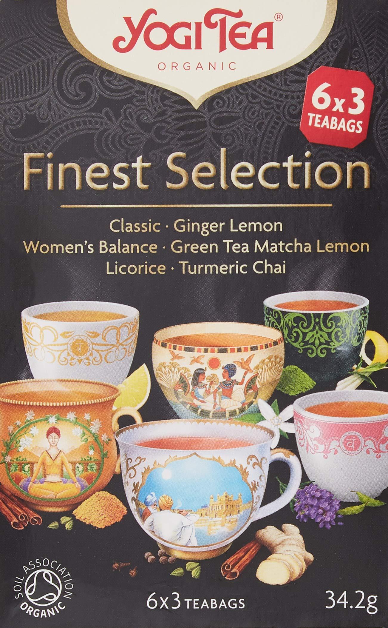 Yogi Tea Organic Finest Selection Tea 18 Teabags