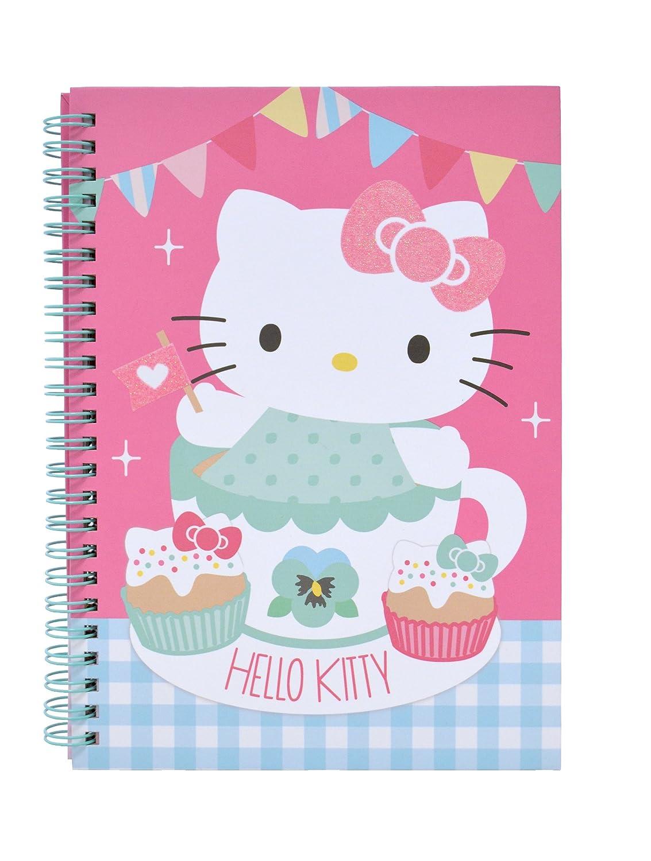 Hello Kitty - Spiralnotizbuch A5 Tea Party