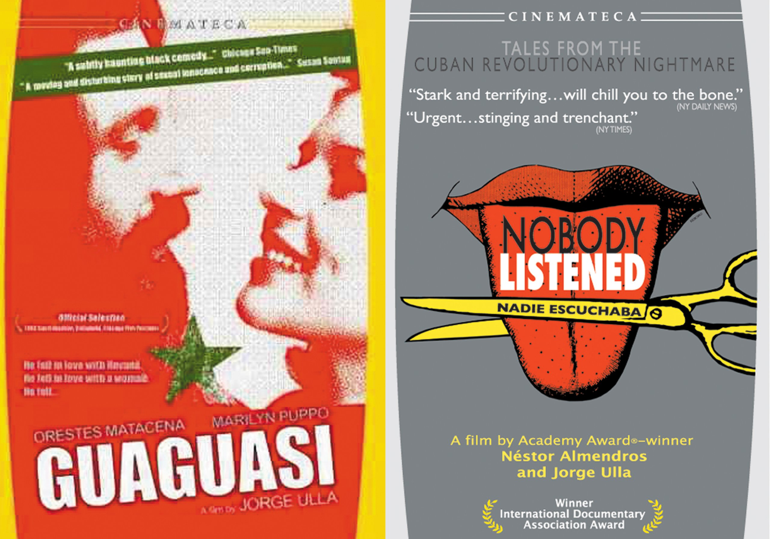 DVD : Cuban Revolution: Guaguasi / Nobody Listened (Full Frame, Subtitled, 2PC)