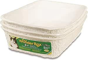 Kitty's Wonderbox Disposable Litter Box