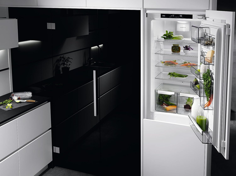 Aeg Kühlschrank Santo Temperatur Einstellen : Aeg sce tc einbau kühl gefrier kombination mit gefrierteil