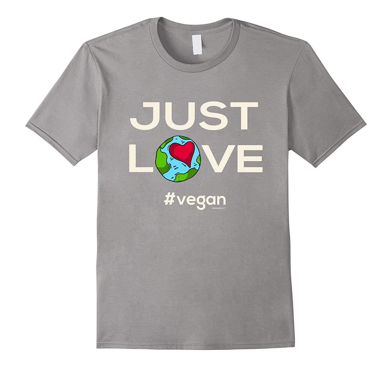 Vegan T-Shirt Just LOVE vegan-TD