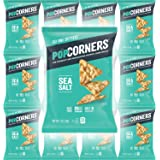 Popcorners Salt of the Earth, Crispy and Crunchy Popped Corn Chips, Gluten-Free Snack, 1oz Bag (Pack of 12, Total of 12…