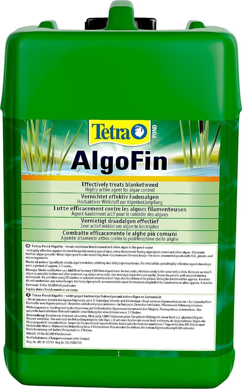 Tetra 753327 - Algofin estanque, para la destrucción eficaz y seguro de las algas filamentosas terco y otras algas en el estanque de jardín, ...