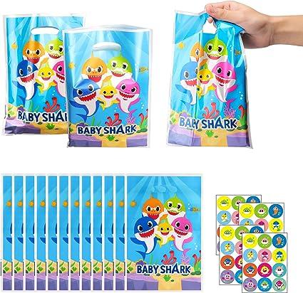 Amazon.com: Ticiaga - 50 bolsas de plástico con 4 pegatinas ...