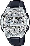 [カシオ] 腕時計 ウェーブセプター 電波ソーラー WVA-M650-7AJF ブラック