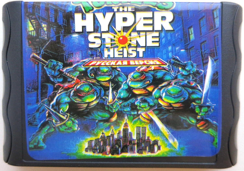 Amazon.com: Turtles TMNT The Hyper Stone Heist Sega Genesis ...