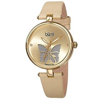 Amazon.com: Burgi Designer BUR233 - Reloj de pulsera para ...