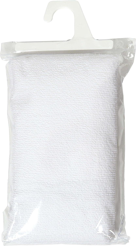 Candide Al/èse /Éponge Coton 40 x 80 cm Blanc