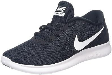 NIKE Women's Free RN Running Shoe Black/Anthracite/White Size 11 ...