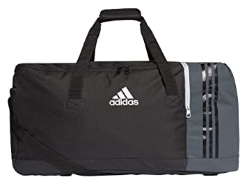 Amazon.com: adidas Tiro Team Bag Large, Negro/ gris oscuro ...
