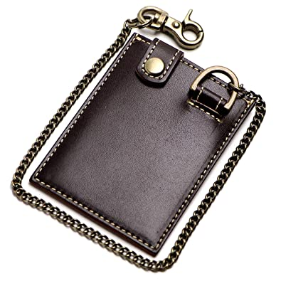 7fd1a94202fc Amazon   革職人 Dignity(ディグニティ)チェーン付き1枚パスケース ...