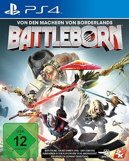 Take Two Interactive Battleborn Ps4 Basico Playstation 4 Deu Video