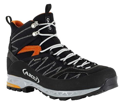 AKU Tengu Lite GTX Shoes Herren Black orange 2019 Schuhe