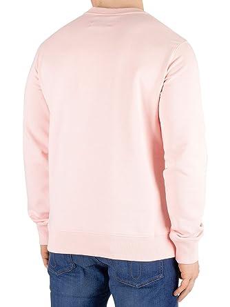 Calvin Klein Sudadera Monogram Box Rosa Hombre: Amazon.es: Ropa y accesorios