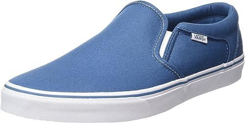 Détails sur Vans Mn Ave Pro Robe Blues Baskets Basses Homme Bleu