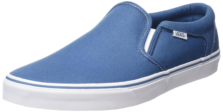 Vans MN Asher, Zapatillas para Hombre, Azul (Contrast Stitchblue/Wht), 44 EU