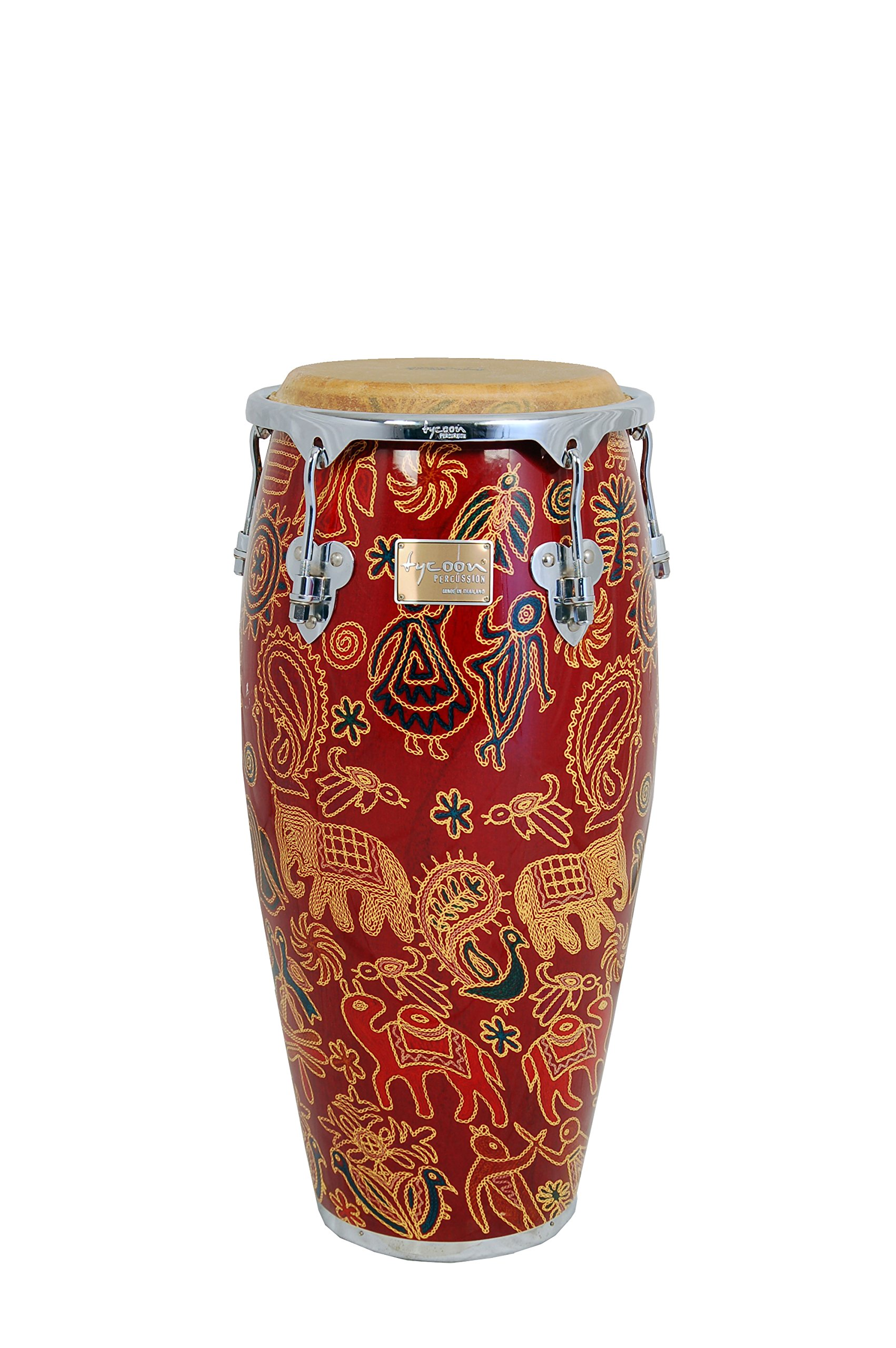Tycoon Percussion 10 Inch Master Fantasy Siam Series Requinto With Single Stand by Tycoon Percussion