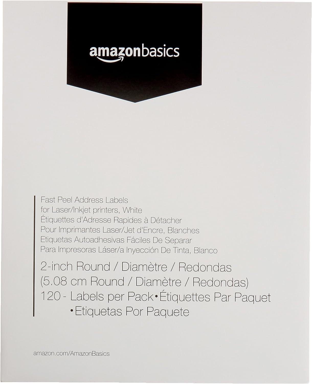 Amazon.com: AmazonBasics - Etiquetas de dirección rápida ...