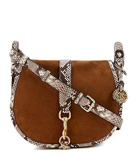9e4fbb97c09dbe Image Unavailable. Image not available for. Color: MICHAEL Michael Kors  Jamie Large Saddle Bag