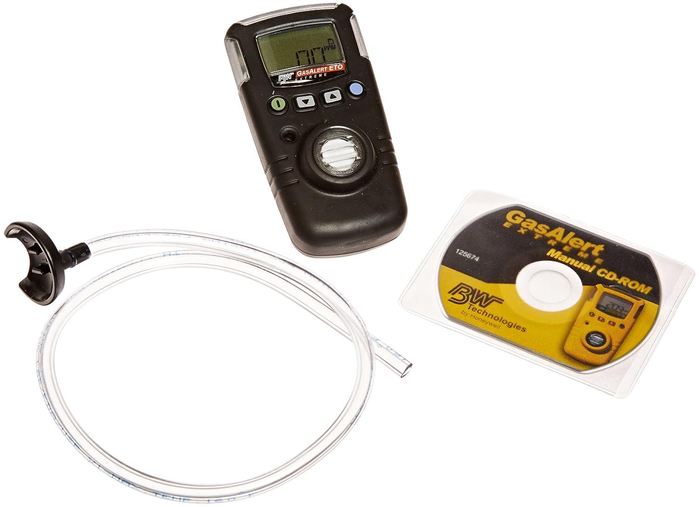 BW tecnologías gaxt-e-dl-b GasAlert Extreme óxido de etileno (Eto) (c2h4o individual) detector de gas, 0 - 100 ppm Rango de medición, Negro: Amazon.es: ...