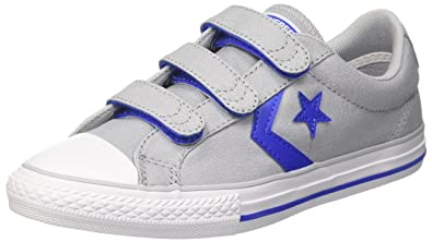 Converse Unisex Kids  Lifestyle Star Player Ev 3v Ox Canvas Fitness Shoes 6d2500de8