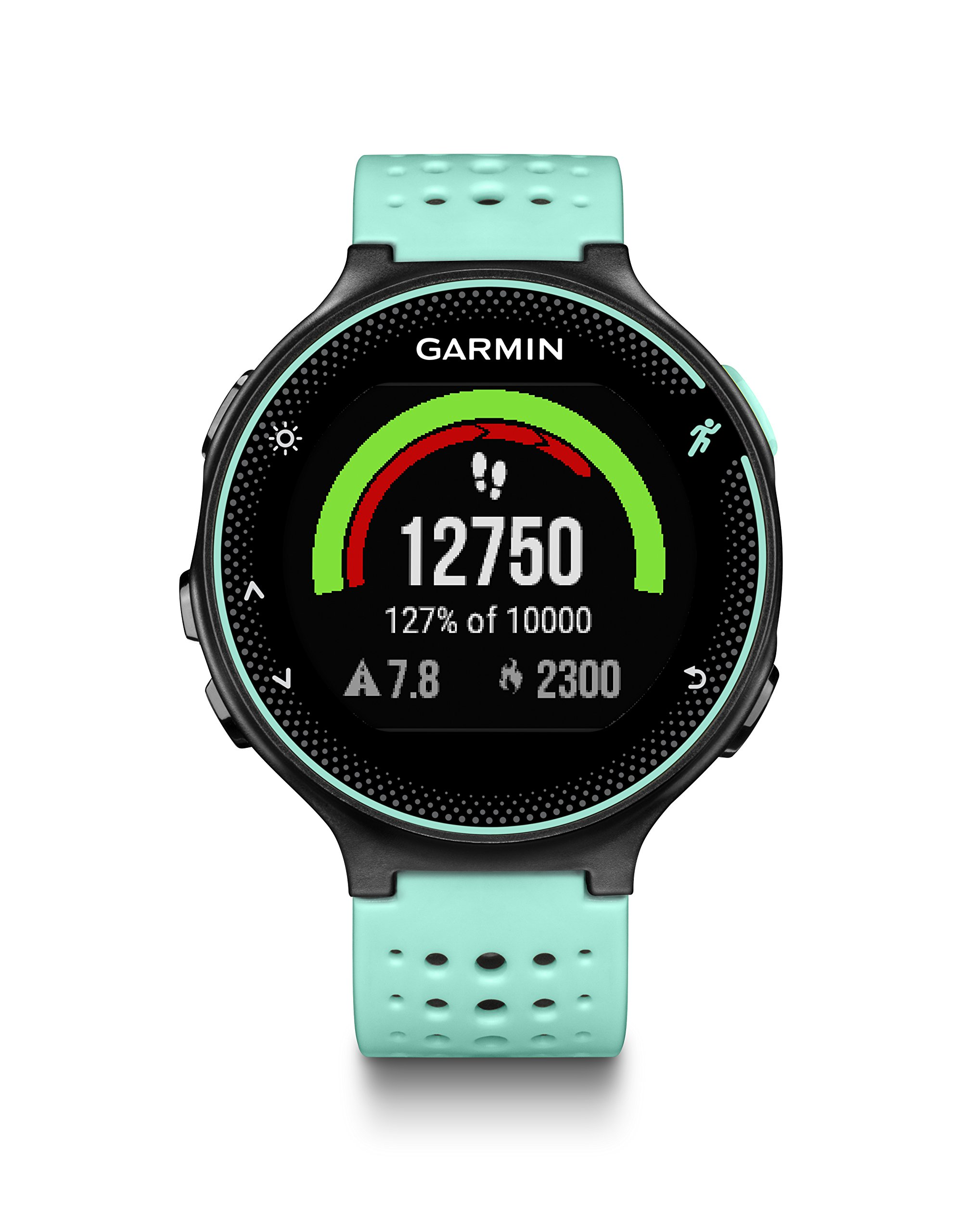 Garmin Forerunner 235 (Frost Blue) GPS Running Watch Bundle | with HD Screen Protector Film (x4) & PlayBetter USB Car/Wall Adapters | On-Wrist Heart Rate | Elevate Heart Rate Technology | VO2 Max by PlayBetter (Image #8)